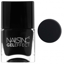 Gel Effect Nail Polish - Black Taxi