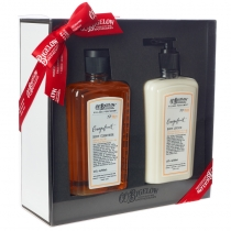 Body Cleanser/Body Lotion Gift Set - Grapefruit