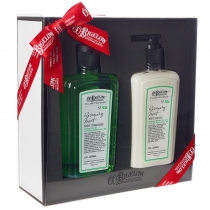 Body Cleanser/Body Lotion Gift Set - Rosemary Mint